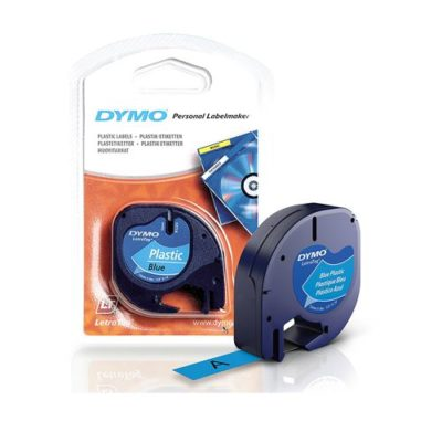 Cinta Dymo Para Rotular Letratag Azul