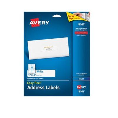 Etiquetas Avery 8161