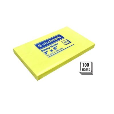 "Post It 3X5"" Studmark Amarillo"